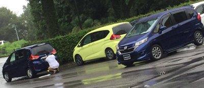 Honda Freed lộ diện ngây trước ngày ra mắt 2
