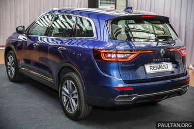 Renault Koleos chính thức ra mắt thị trường Malaysia 1