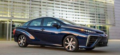 Toyota đặt mục tiêu 30.000 xe chạy pin nhiên liệu FCV cho đến năm 2020.