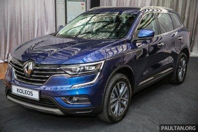 Renault Koleos chính thức ra mắt thị trường Malaysia.