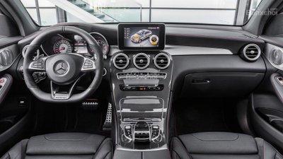 Mercedes-AMG GLC 43 Coupe 2017 lộ diện trước thềm triển lãm Paris A17