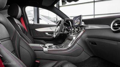 Mercedes-AMG GLC 43 Coupe 2017 lộ diện trước thềm triển lãm Paris A16