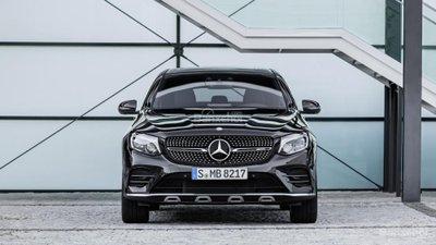 Mercedes-AMG GLC 43 Coupe 2017 lộ diện trước thềm triển lãm Paris A1