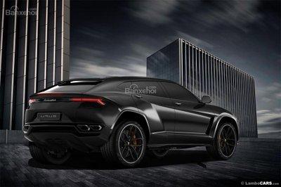 Xem trước siêu SUV Lamborghini Urus phiên bản sản xuất a8