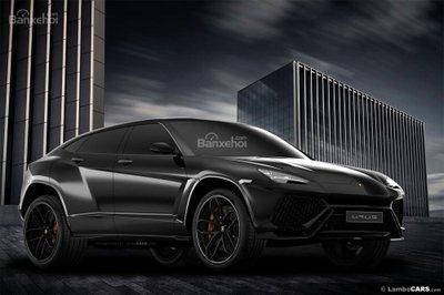 Xem trước siêu SUV Lamborghini Urus phiên bản sản xuất a7