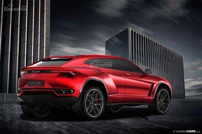 Xem trước siêu SUV Lamborghini Urus phiên bản sản xuất a14