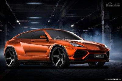 Xem trước siêu SUV Lamborghini Urus phiên bản sản xuất a15