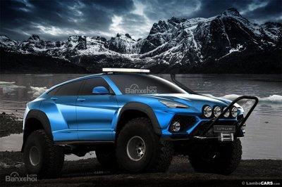 Xem trước siêu SUV Lamborghini Urus phiên bản sản xuất a16