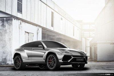 Xem trước siêu SUV Lamborghini Urus phiên bản sản xuất.