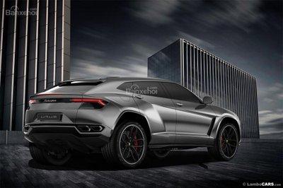 Xem trước siêu SUV Lamborghini Urus phiên bản sản xuất a4