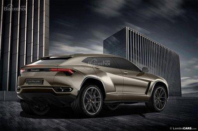 Xem trước siêu SUV Lamborghini Urus phiên bản sản xuất a6
