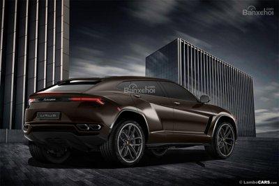 Xem trước siêu SUV Lamborghini Urus phiên bản sản xuất a10