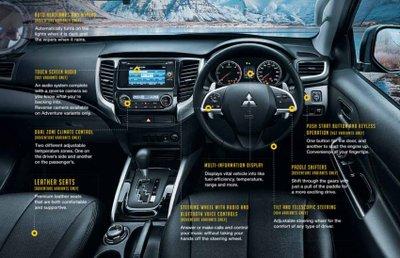 Mitsubishi Triton hé lộ bản nâng cấp, giá 600 triệu đồng 4