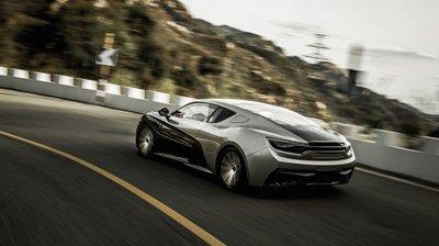 Xe điện Trung Quốc Qiantu K50 sẽ Mỹ tiến, đại chiến Tesla 3