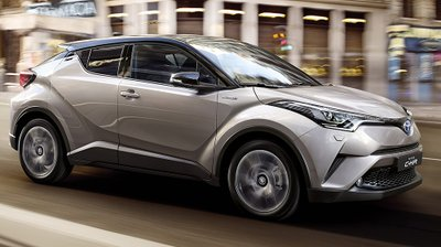 Toyota C-HR rò rỉ giá bán dù chưa ra mắt.
