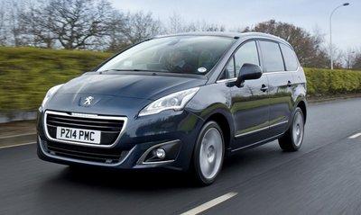 Peugeot 5008 hóa SUV 7 chỗ, đợi Triển lãm Paris 2