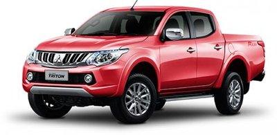Mitsubishi Triton triệu hồi 3500 xe vì lỗi túi khí.