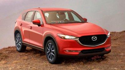 Hé lộ Mazda CX-5 thế hệ mới qua ảnh phác thảo.