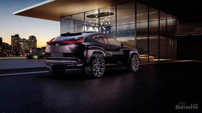 Rò rỉ hình ảnh của Lexus UX concept.