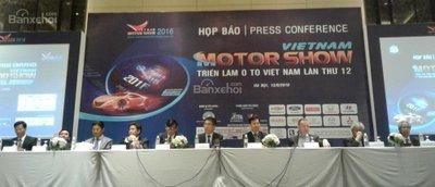 Triển lãm ô tô Việt Nam - Vietnam Motorshow 2016: Tăng tốc - đón đầu.