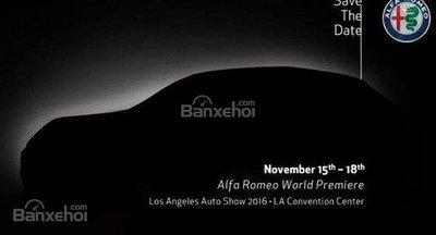 Alfa Romeo Stelvio SUV chính thức tung ảnh nhá hàng đầu tiên.