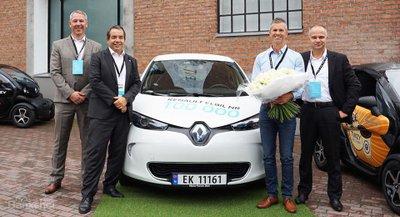 Renault cán mốc doanh số xe EV thứ 100.000