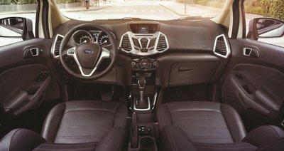 Ford EcoSport Titanium Black Edition sở hữu thiết kế nội thất năng động.