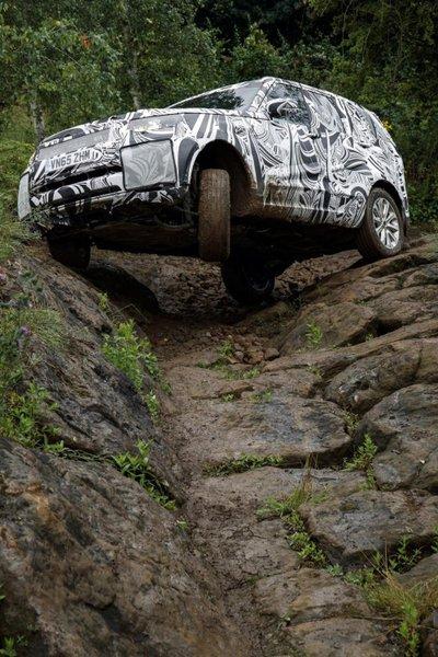 Cận cảnh Land Rover Discovery 2017 trước ngày ra mắt triển lãm Paris a8