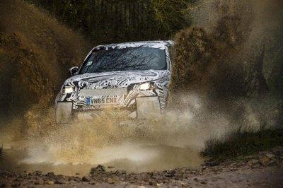 Cận cảnh Land Rover Discovery 2017 trước ngày ra mắt triển lãm Paris a7