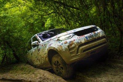 Cận cảnh Land Rover Discovery 2017 trước ngày ra mắt triển lãm Paris a6