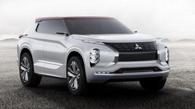 Mitsubishi GT-PHEV concept hé lộ trước thềm triển lãm Paris.