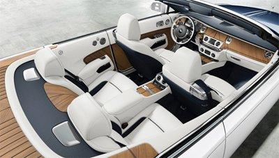 Ngắm Rolls-Royce Nautical Dawn - xế siêu sang lai du thuyền 2