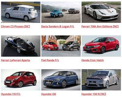 Tổng hợp những mẫu xe sẽ xuất hiện tại Triển lãm Paris 2016 2