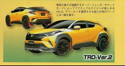 Lộ ảnh phiên bản thể thao Toyota C-HR TRD Edition .