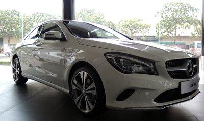 Mercedes CLA 200 cập bến Việt Nam, giá 1,5 tỷ Đồng.