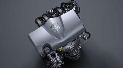 Toyota Yaris 2016 sử dụng động cơ 2NR-FE 1.5L, Dual VVT-I sản sinh công suất 107 mã lực.