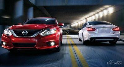 Nissan Altima 2017 có mặt tại đại lý Mỹ với giá khởi điểm 23.335 USD