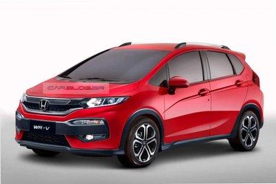 Crossover cỡ nhỏ Honda WR-V dự kiến trình làng vào năm 2017.