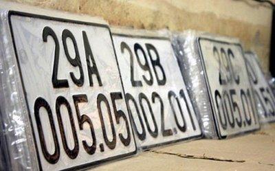 Tìm hiểu ý nghĩa dấu chấm ở giữa biển số xe 5 số.