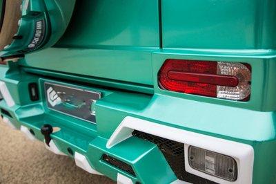 """Chân dài khoe ngực """"khủng"""" bên xe Mercedes-Benz G63 AMG a15"""