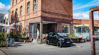 Xe điện Smart ForTwo Electric Drive 2017 chuẩn bị ra mắt, bền pin hơn xưa 4