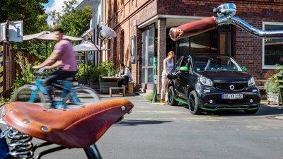 Xe điện Smart ForTwo Electric Drive 2017 chuẩn bị ra mắt, bền pin hơn xưa 2