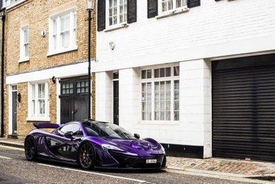 """Ngắm McLaren P1 độ tím, """"chất"""" lóa mắt trên phố Anh 3"""