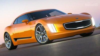Khá nhiều người bất ngờ khi GT4 Stinger xuất hiện tại triển lãm Bắc Mỹ 2014