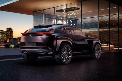 """Lexus UX concept """"nhá hàng"""" trước ngày ra mắt triển lãm ô tô Paris 2016."""