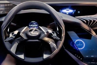 Hé lộ thiết kế nội thất ấn tượng của Lexus UX concept.