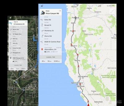 Thông tin chi tiết về bản nâng cấp hệ điều hành 8.0 của Tesla 4