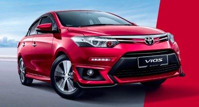 Toyota Vios 2016 chính thức ra mắt thị trường Malaysia