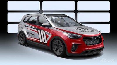 Ấn tượng với Hyundai Santa Fe 1040 mã lực dành cho SEMA Show.