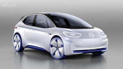 Xe điện Volkswagen hatchback concept lộ diện hoàn toàn.